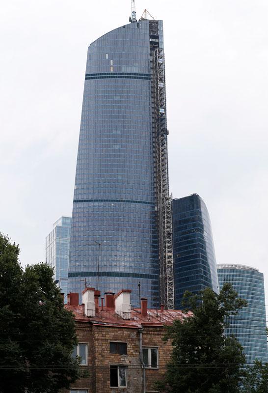 «Башня Федерация. Восток» является самым высоким небоскребом в Европе