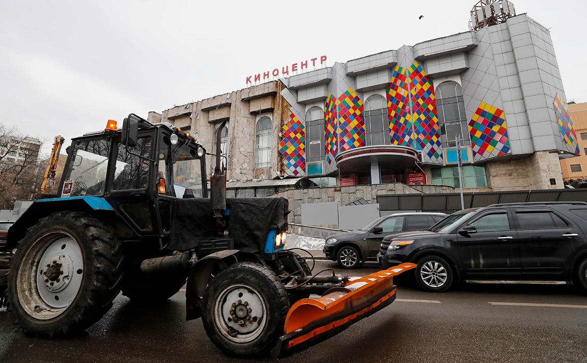 Снос киноцентра «Соловей»