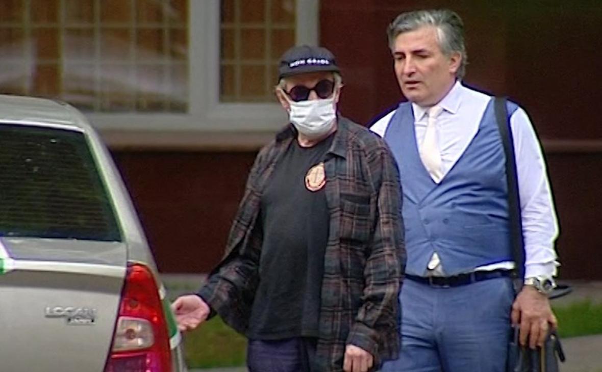Эльман Пашаев (справа) и Михаил Ефремов