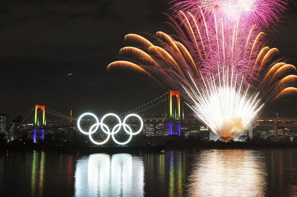 Фото: Открытие Олимпиады-2020(Photo by Kyodo News via Getty Images)