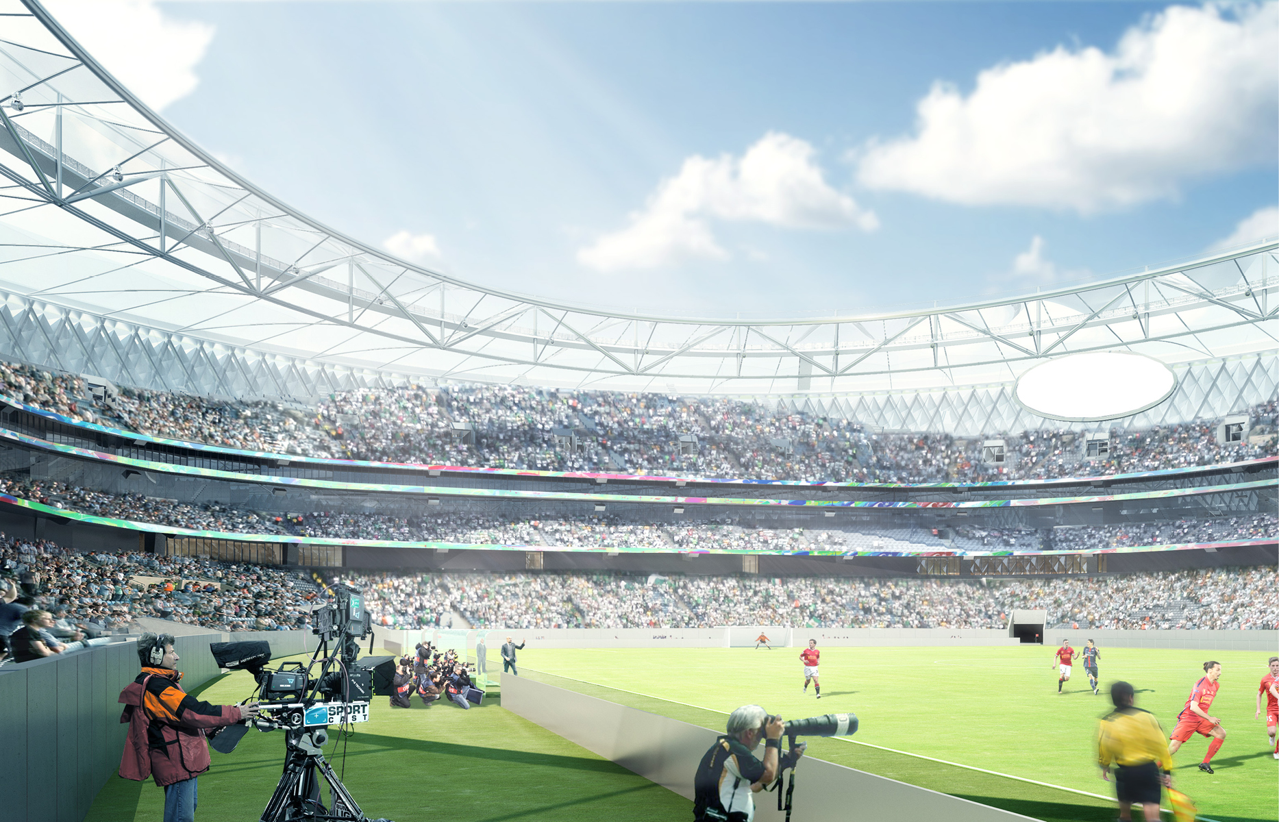 Стадион Мохаммеда бин Рашида станет частью проекта Sports Innovation Lab, который призван превратить Дубай в один из ведущих спортивных городов мира. Так, новая арена сможет принимать не только футбольные матчи, но и другие виды спорта