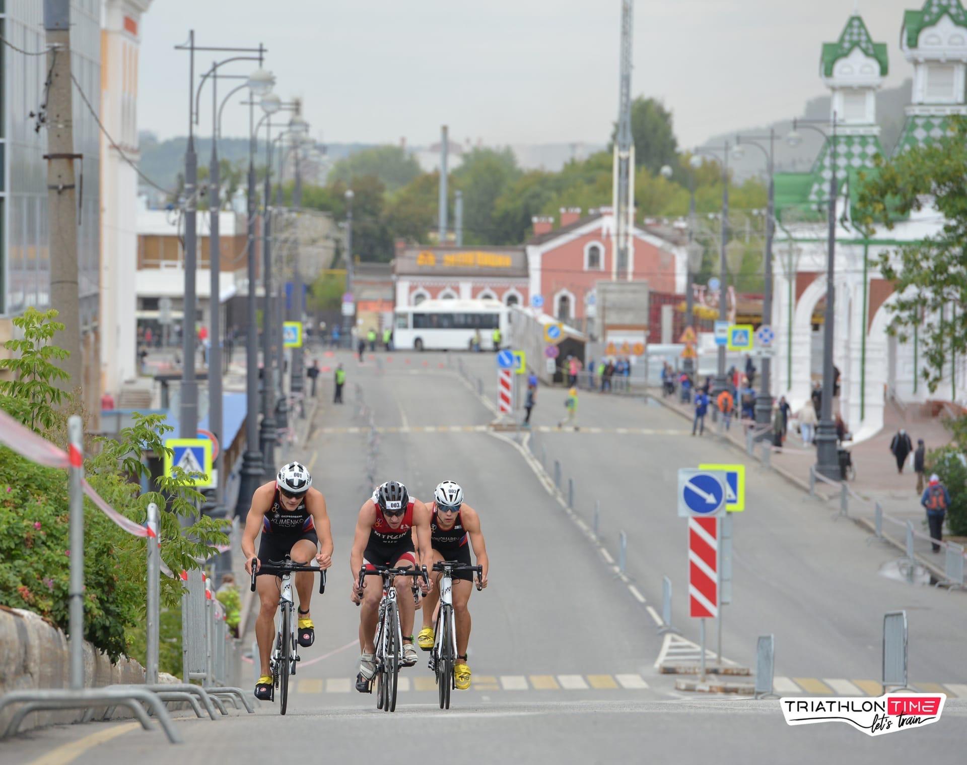 В центре Перми перекроют несколько улиц из-за Кубка России по триатлону