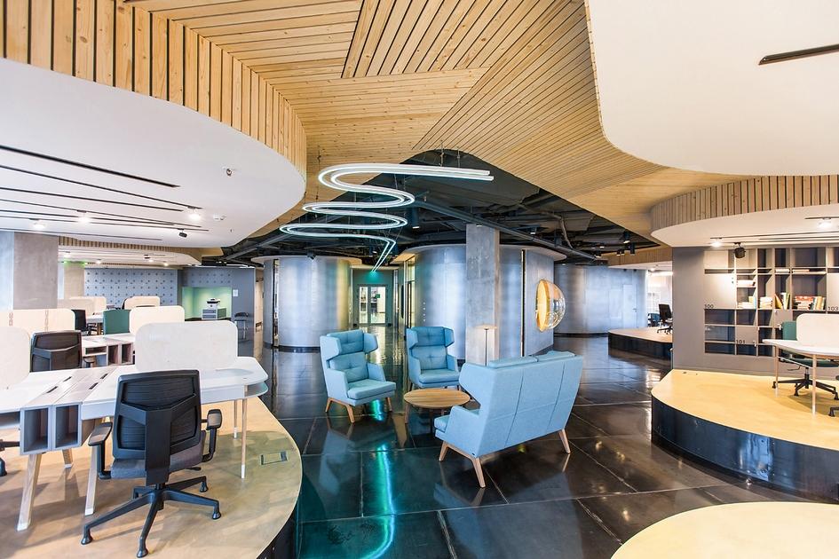 Номинация «Третье место», оценивающая коворкинги Коворкинг-14 / архитектурное бюро Megabudka