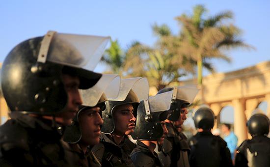 Сотрудники полиции Египта