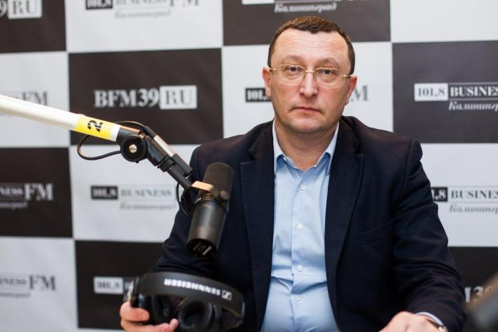 Гендиректор аэропорта «Храброво» Александр Корытный.