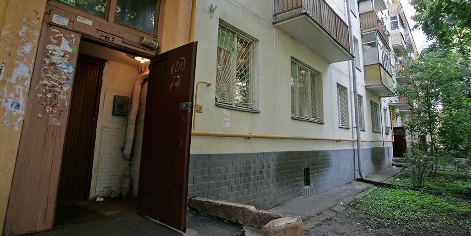 Хрущевка в Кузьминках. 2006 год