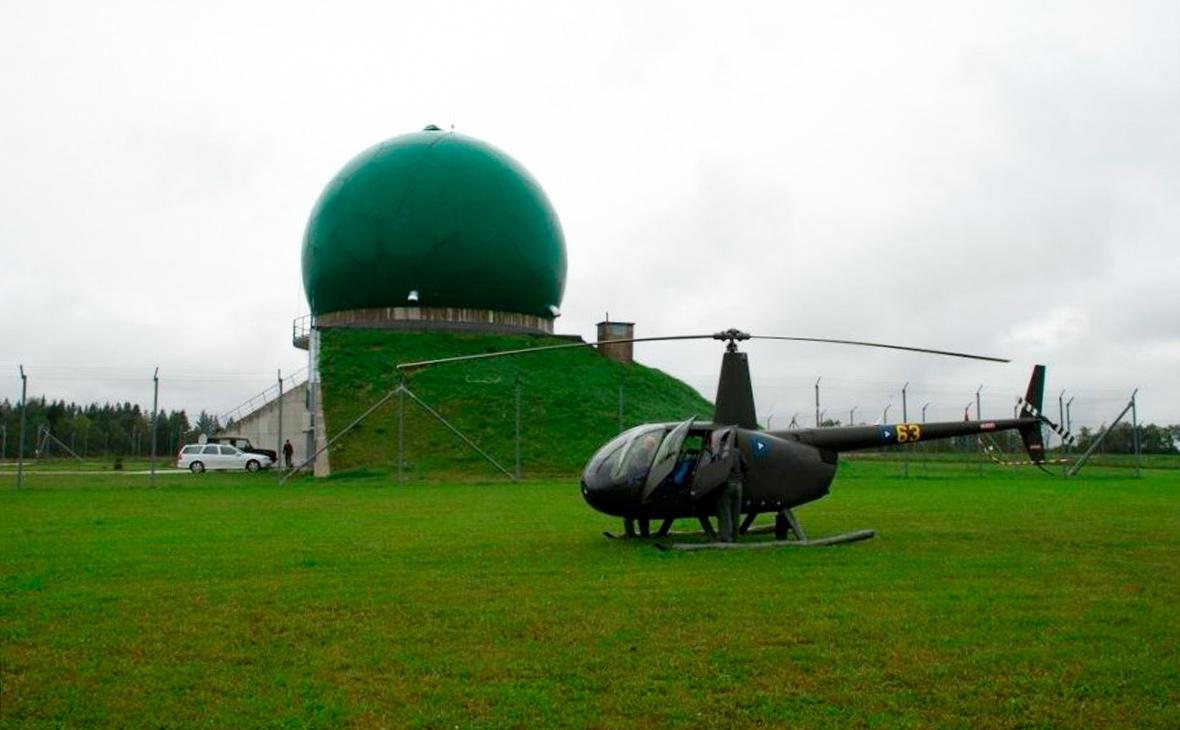Радиолокационная станция в Келлавере