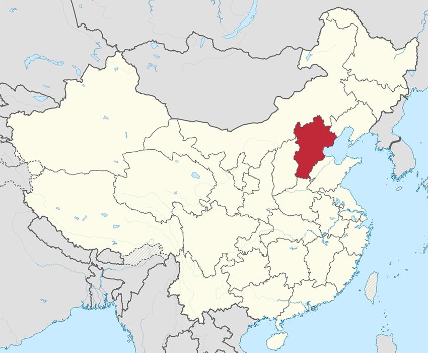 Территория новой пекинской агломерации