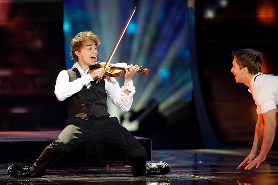 Победитель «Евровидения-2009» Александр Рыбак (Норвегия)