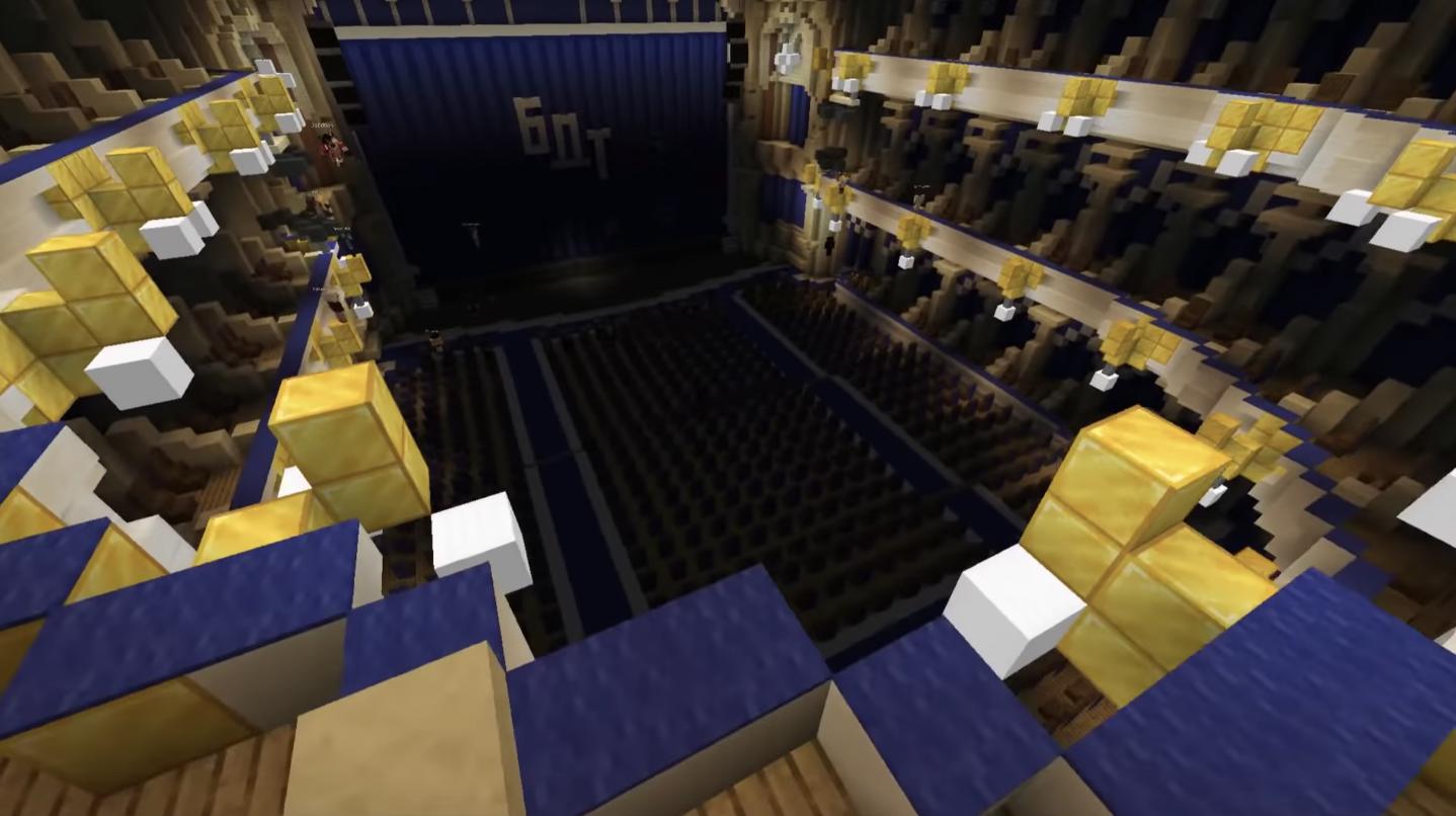 «Вишневый сад» в Minecraft