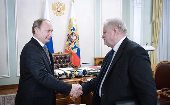 Сергей Миронов не впервые обращает внимание Владимира Путина на несовершенство таможенной системы
