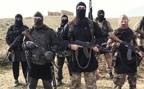 Боевики террористической организации «Исламское государство»