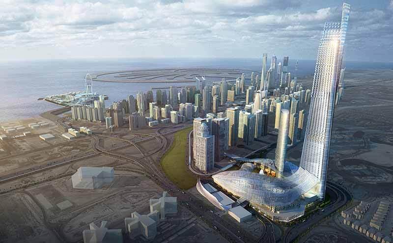 Номинация «Городское планирование / Ландшафтная архитектура»   Название: Бурдж 2020 Место: Дубай Архитекторы: RNL Design