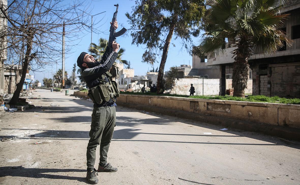 Боец Национального фронта освобождения,Сирия, Саракиб