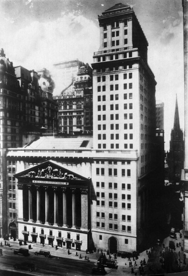 Нью-Йоркская фондовая биржа. 1935 год