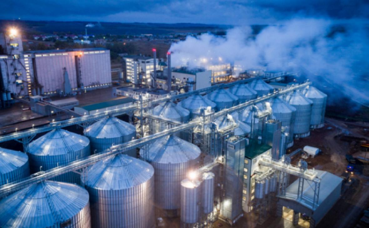 Строительство маслоэкстракционного завода в с. Маячный.