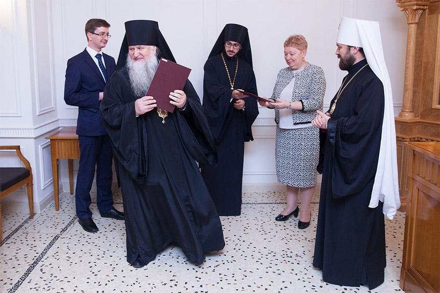 Ольга Васильева во время церемонии вручения дипломов
