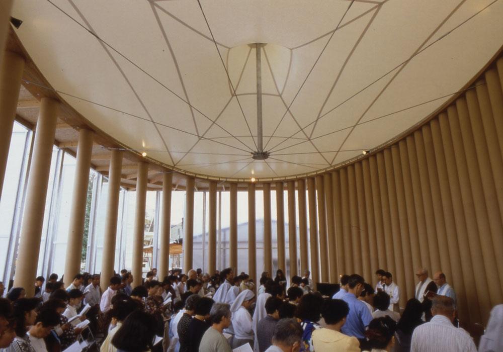 Paper Church, 1995, Kobe, Japan