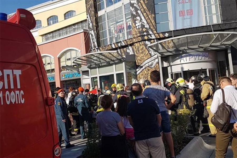 Днем 27 июня в торговом центре «Атриум» на площади Курского вокзала в Москве произошел пожар