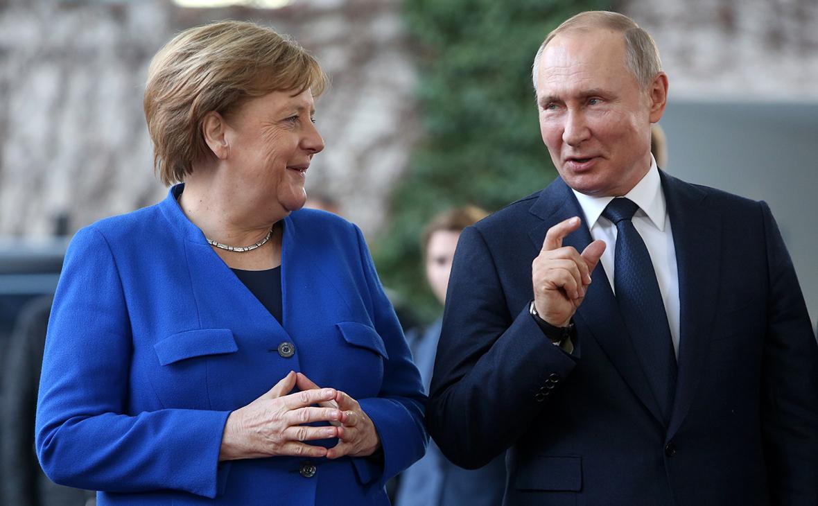 Путин рассказал, будет ли скучать по Меркель :: Политика :: РБК