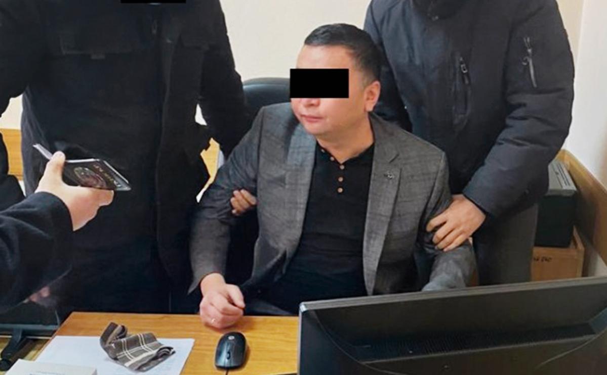 Задержание Нургазы Анаркулова