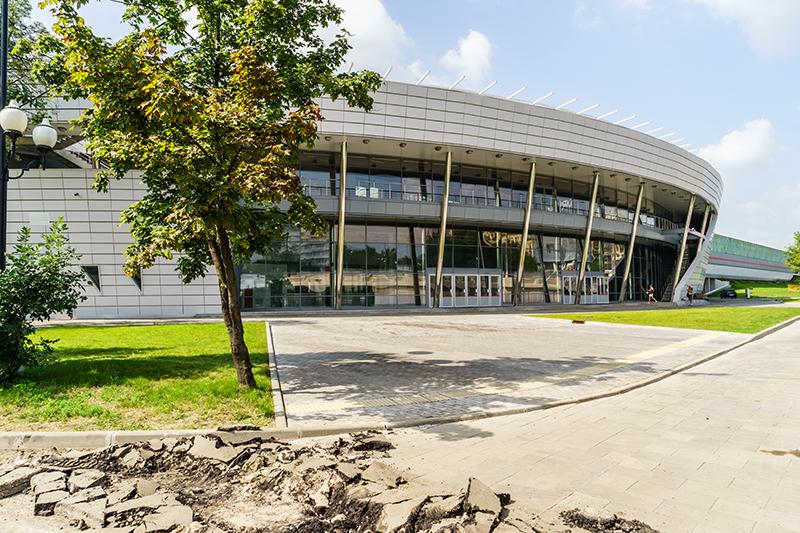 Станция «Лужники», июль 2016 года