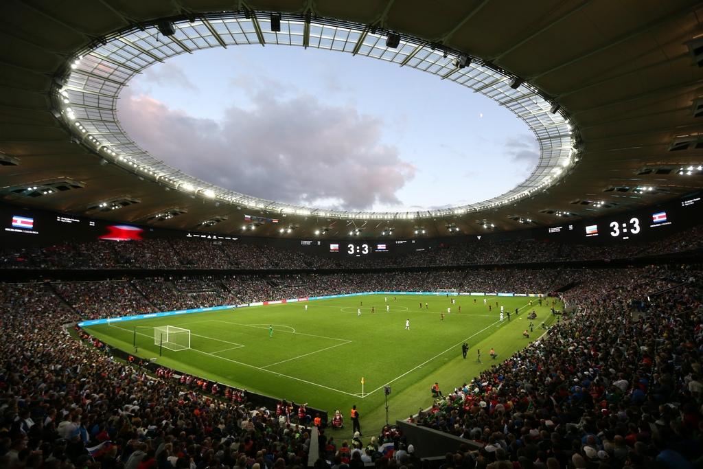 Спортивная арена стадиона получила откомиссии Российского футбольного союза (РФС) полицензированию стадионов сертификат высшей категории