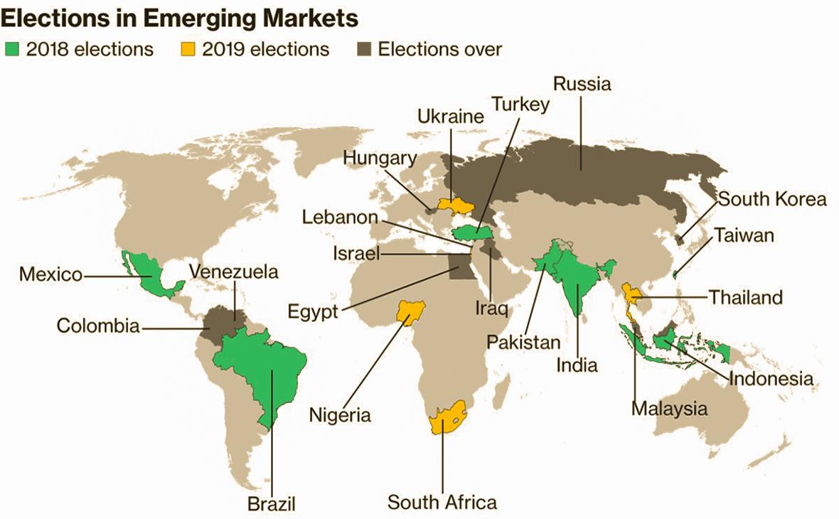 Киев потребовал от Bloomberg перекрасить Крым на карте
