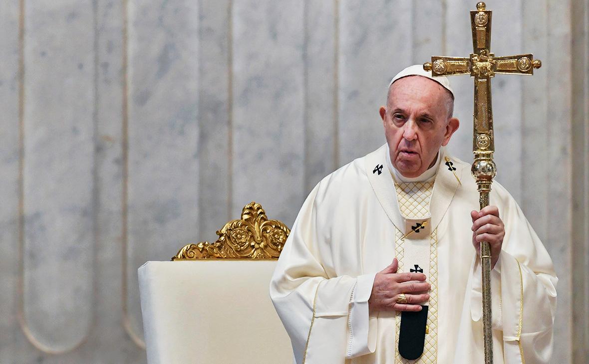 Папа римский Франциск