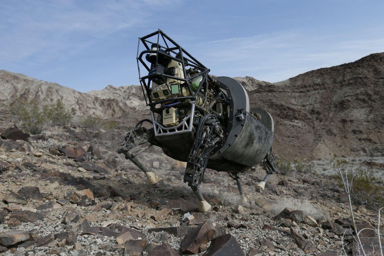 Робот LS3