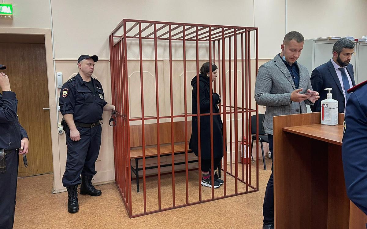 Фото: пресс-служба Басманного районного суда города Москвы