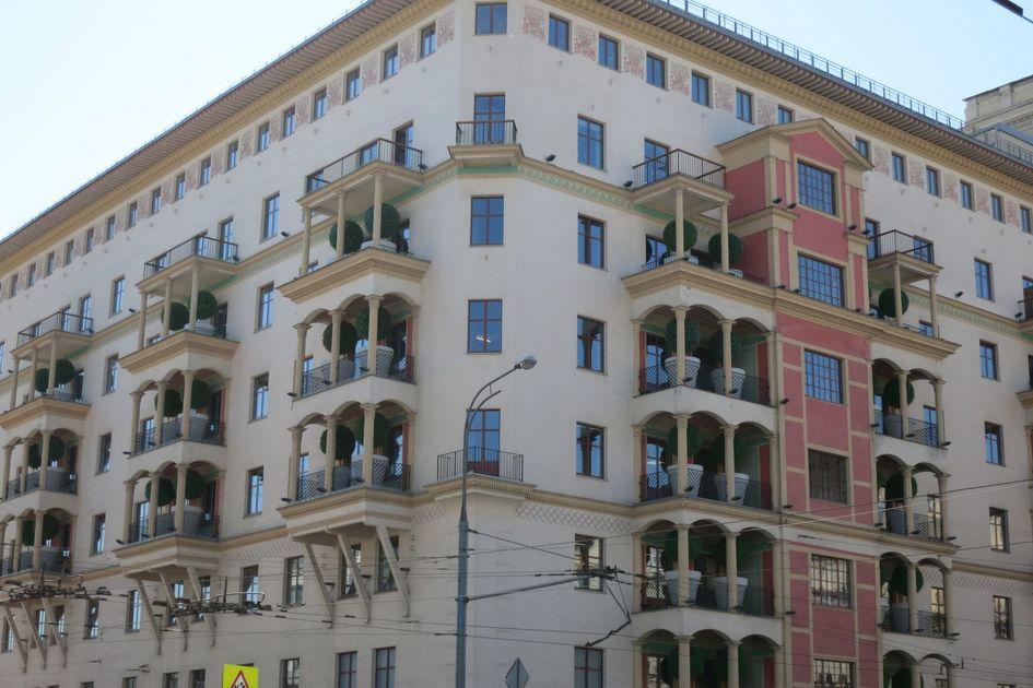 Так выглядит надстроенный дом на проспекте Мира