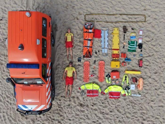 <p>Пляжный патруль в Нидерландах</p>