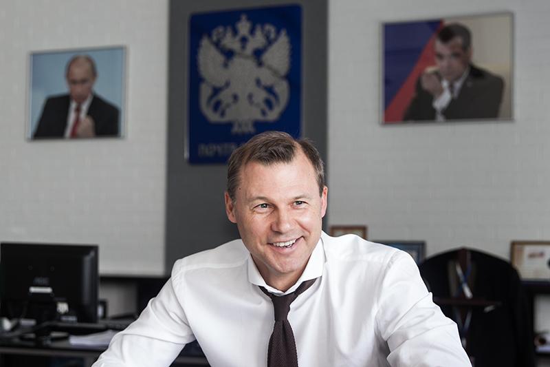 Гендиректор «Почты России» Дмитрий Страшнов