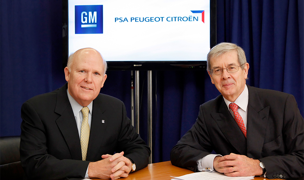 """<span style=""""font-size:15px;"""">29 февраля 2012 г. глава General Motors Дэн Акерсон и председатель совета директоров PSA Филипп Варин подписали соглашение о создании стратегического альянса</span>"""