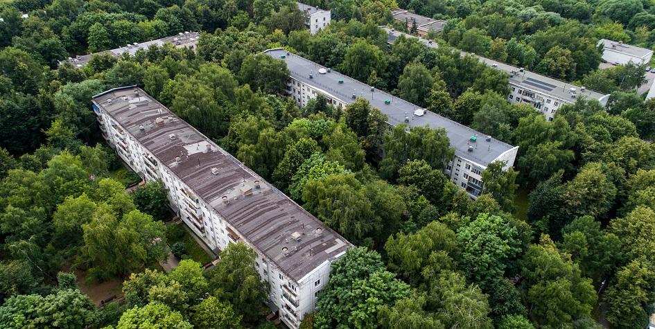Пятиэтажные хрущевки