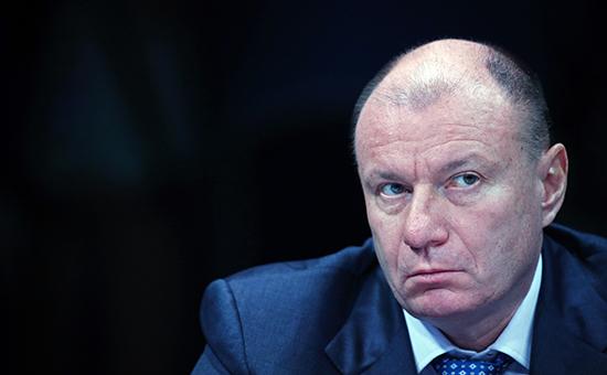 Глава «Норникеля» Владимир Потанин