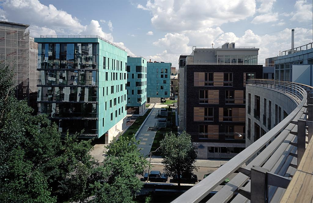 Из портфолио «Сергей Скуратов Architects»: ЖК Cooper House