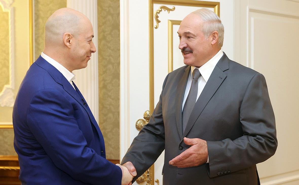 Дмитрий Гордон и Александр Лукашенко