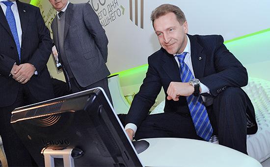 Первый заместитель премьер-министра РФ Игорь Шувалов