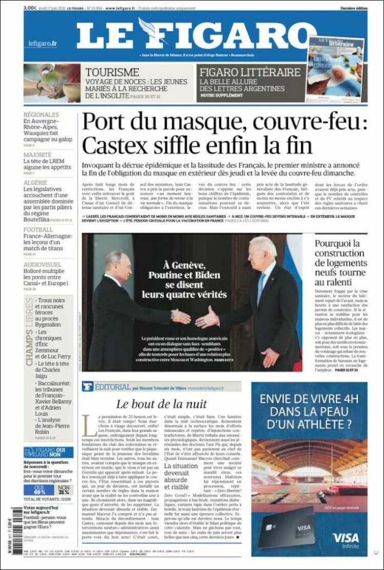 Le Figaro, Франция