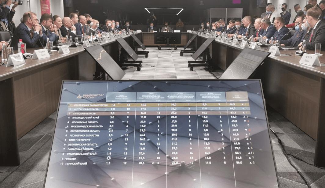 Край вошел в ТОП регионов с эффективной реализацией промышленной политики