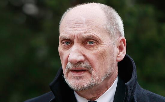 Глава Минобороны Польши АнтонМачеревич