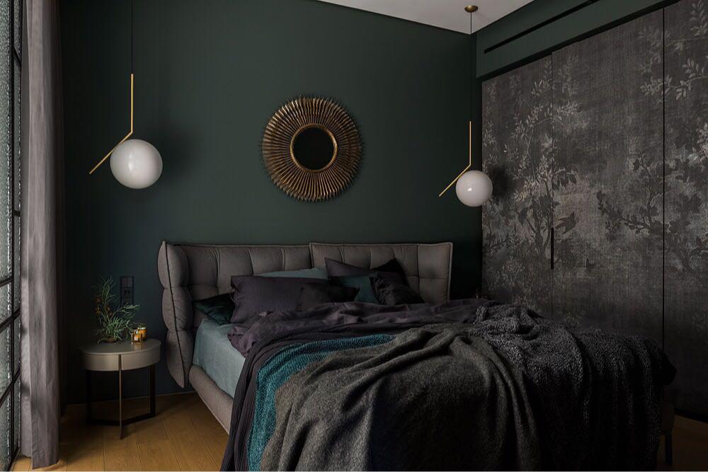 Встроенный шкаф в спальне.Проект Татьяны Бобылевой