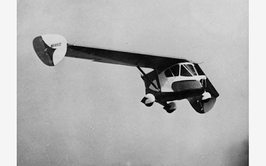 Летающий автомобиль Уотермана