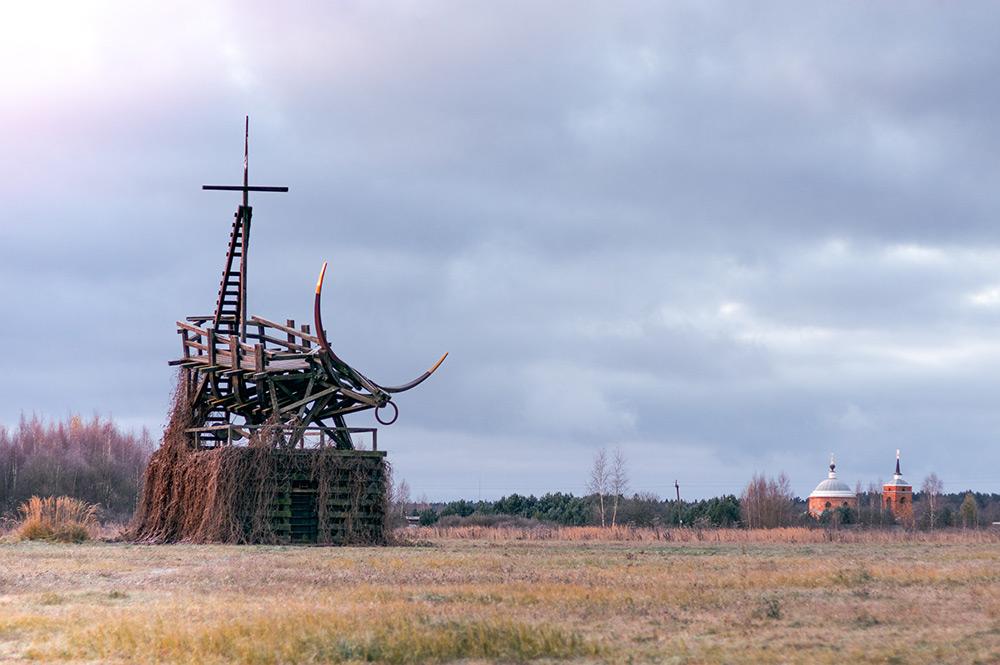 «Позолоченый телец», Василий Щетинин. 2009 год