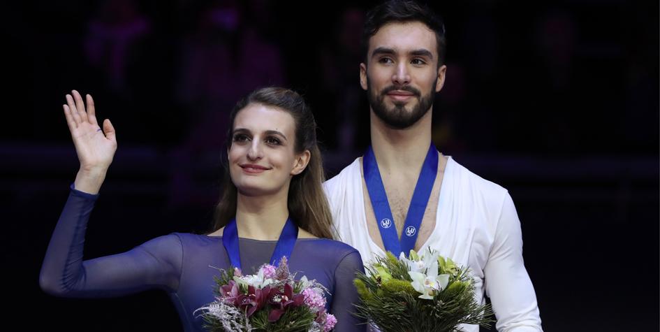 Французские фигуристы побили два мировых рекорда на ЧЕ-2018 в Москве