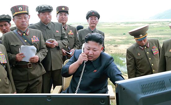 Глава КНДР Ким Чен Ын  Архивное фото