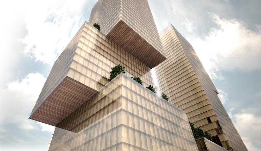 Номинация «Небоскребы ивысотные проекты»:    Название:Майнор иСтюар Место: Сиэтл Архитекторы: WATG