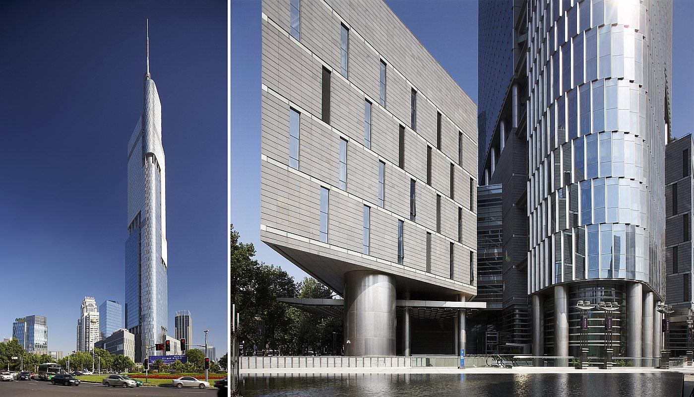 № 13. Jiangxi Nanchang Greenland Zifeng Tower   Высота: 450 м, 66 этажей Место: Наньчан, Китай Назначение: отель и офисы Архитектура: Skidmore, Owings & Merrill LLP (SOM) Дата строительства: 2010 год